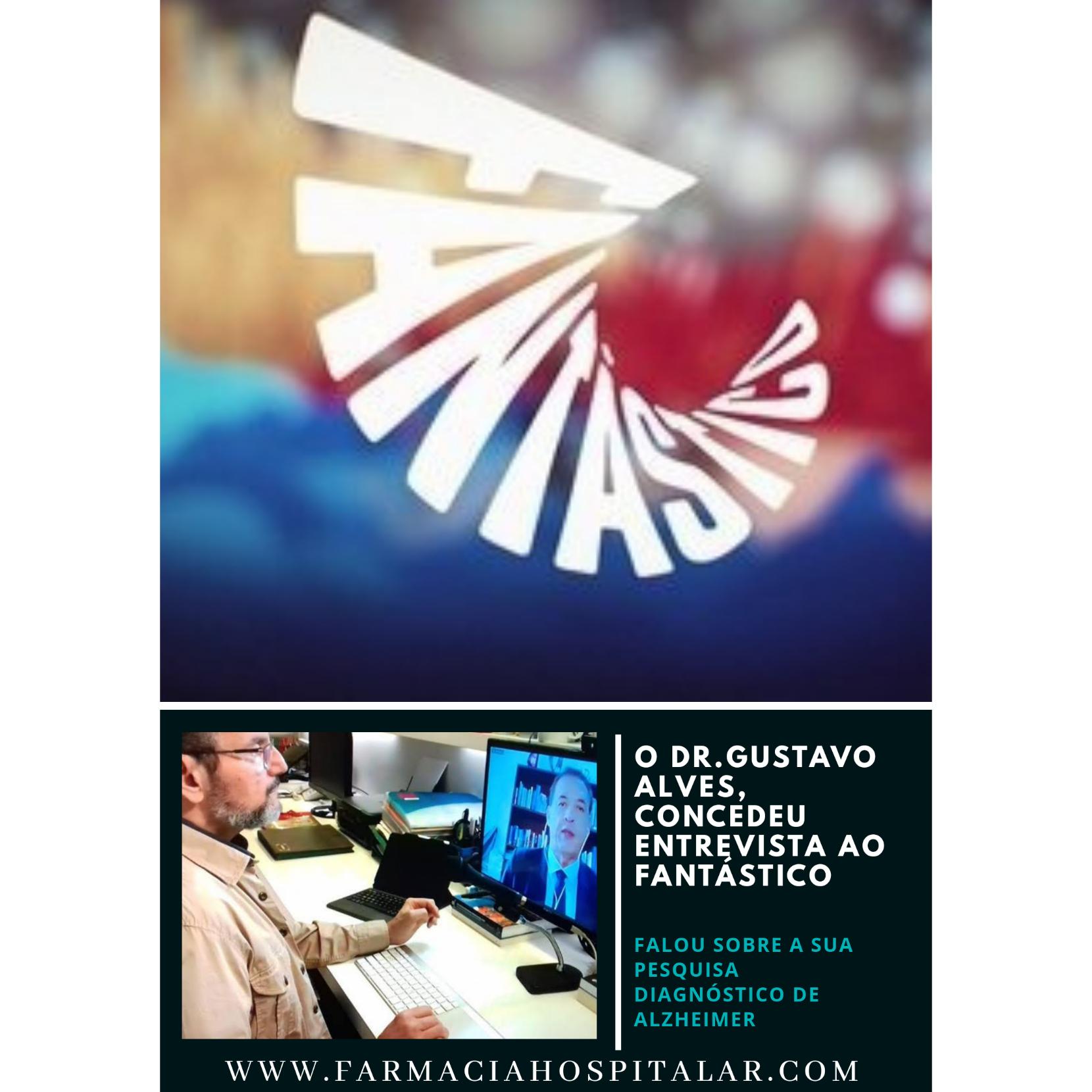 O Dr. Gustavo Alves concede entrevista ao Fantástico.