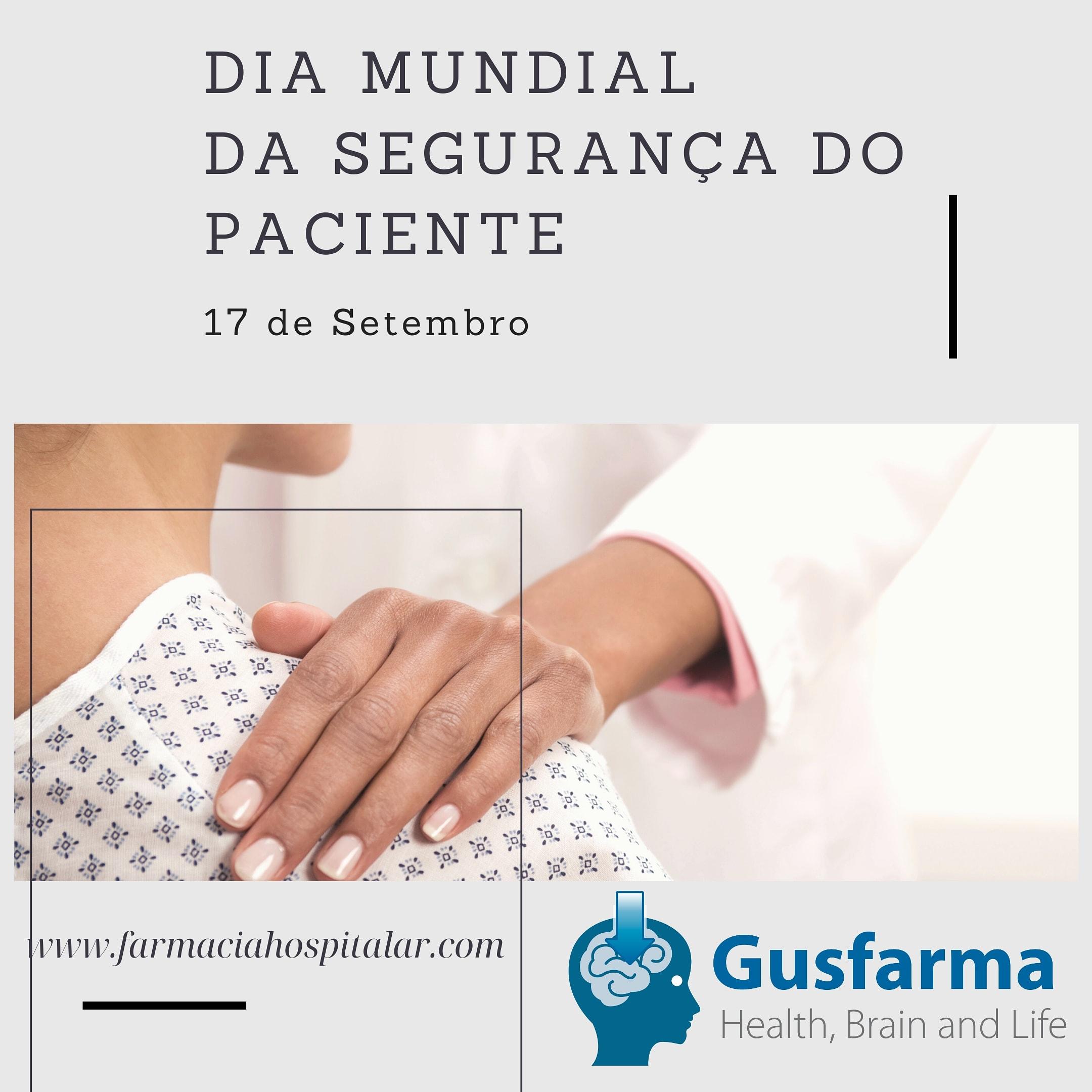 Dia mundial da segurança do paciente.