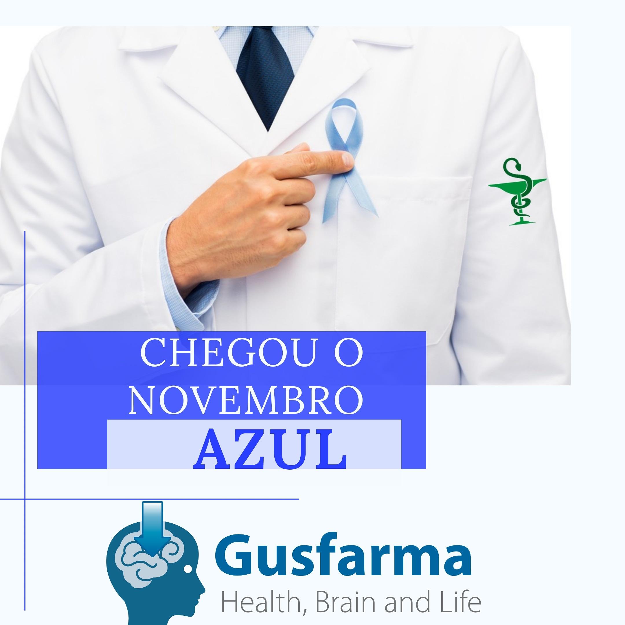 Novembro Azul.